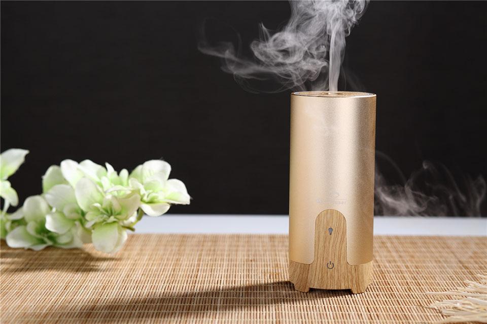 Diffuser And Oils Part - 24: Usb-essential-oil-diffuser-gold